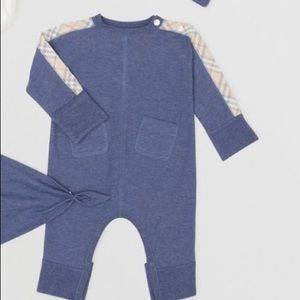 Infant boys 💯 Burberry Onsie